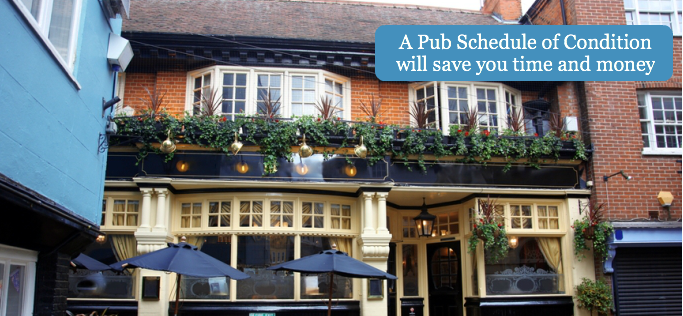 A Pub Schedule of Condition will save you time and money