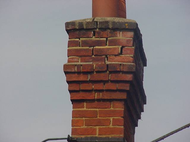 close up chimney