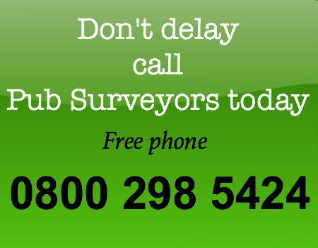 free phone pub surveyors 0800 298 5424